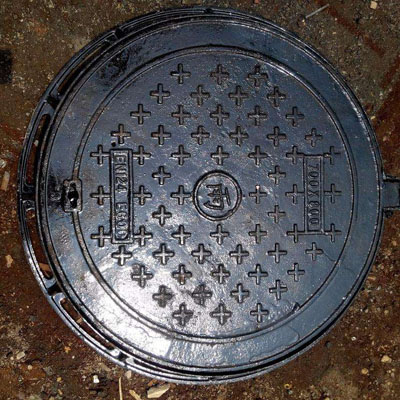 球墨铸铁井盖重型